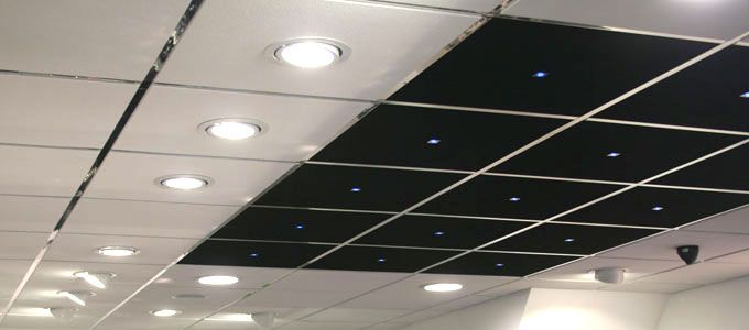 Decorative Suspended Ceiling Tiles Uk Lighting In A Suspended Ceiling  Google Search  Aef Office