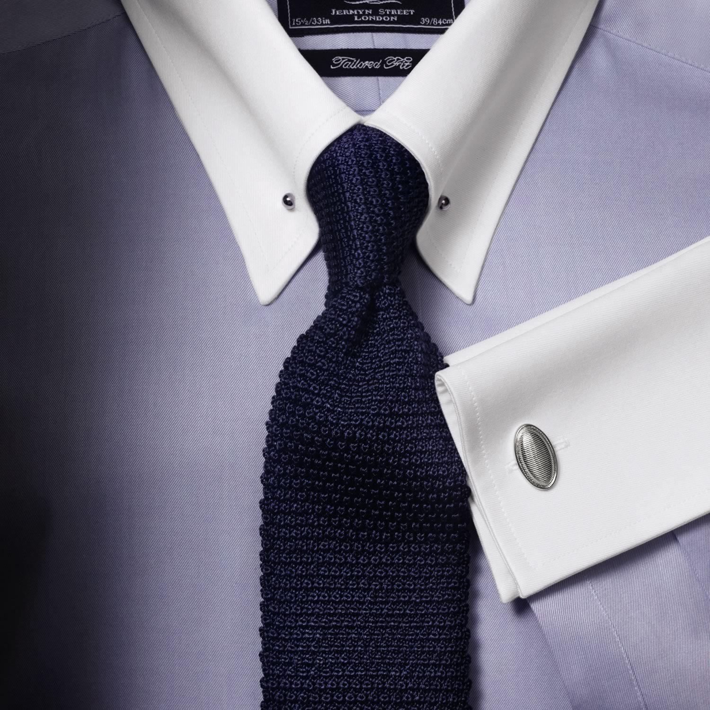 Sky Winchester pin collar extra slim fit shirt   Men's dress ...