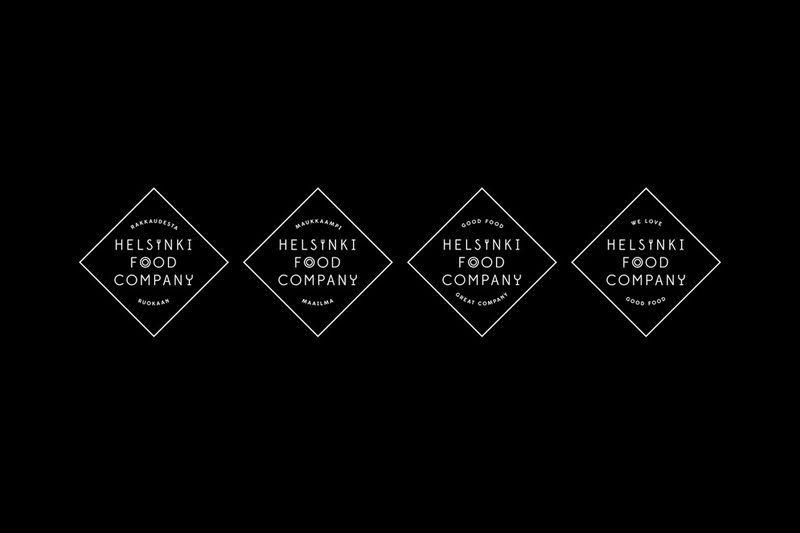 Helsinski Food Company, une identité savoureuse  / Galeries / étapes: