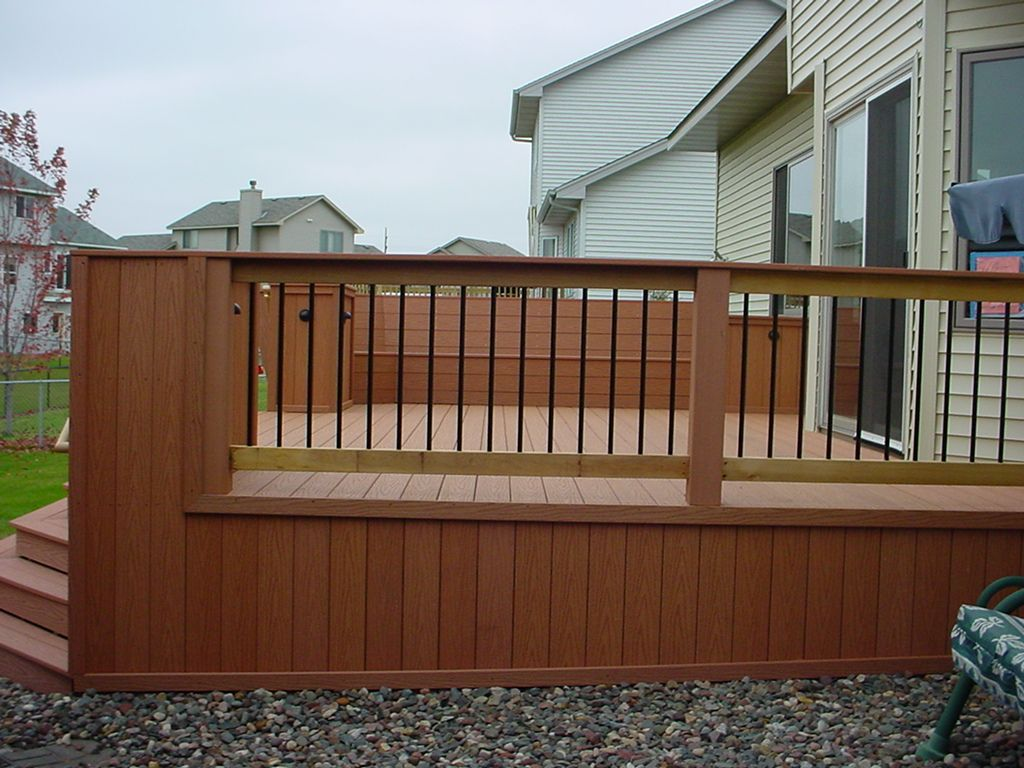 Deck plans deck works can provide unique deck designs for any planning ideas classic deck railing designs deck railing designs rail deck glass railing railings for decks and planning ideass baanklon Choice Image