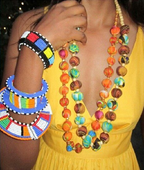 5 Amazing Artisans To Shop At Afropunk Fest Brooklyn This Weekend Masai Jewelry Jewelry Website African Jewelry