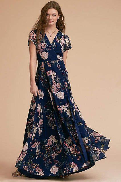 Midnight Blue Yumi Kim Wedding Guest Dress #Anthropologie #ad ...