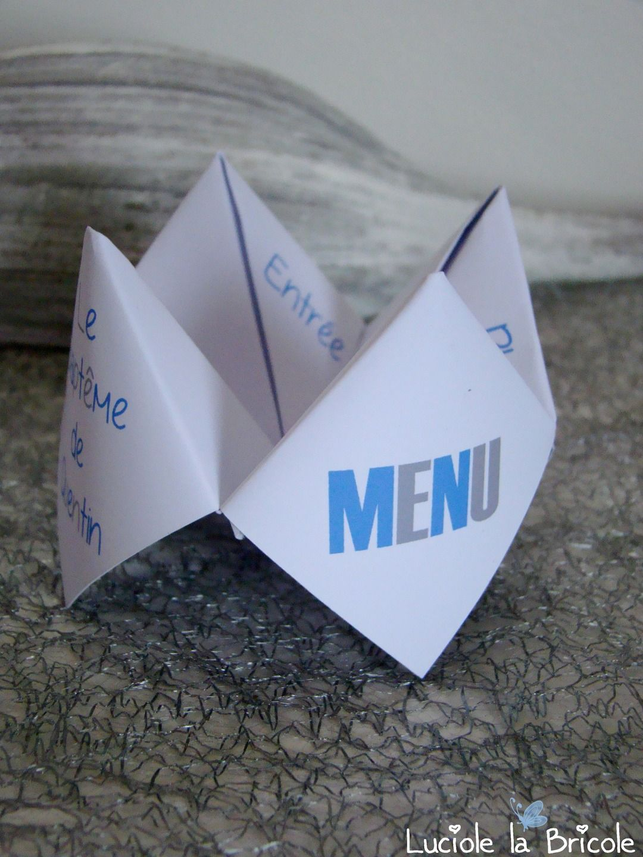 Célèbre Menu individuel original cocotte en papier | Cocotte en papier, La  QX25