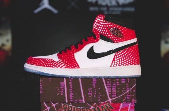 Nike Air Jordan 1 Retro High OG X Spider Man: Into the
