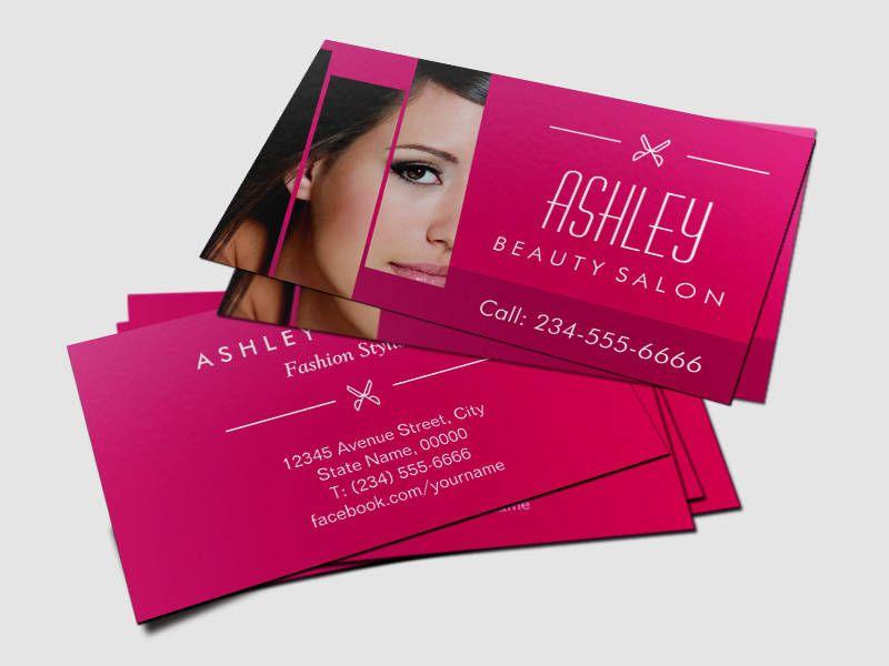 Tarjetas De Presentacion Venta De Bolsas Buscar Con Google - Beauty salon business cards templates free