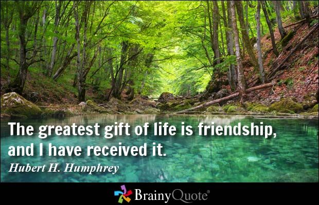 Friendship Quote Brainy : Hubert h humphrey quotes and