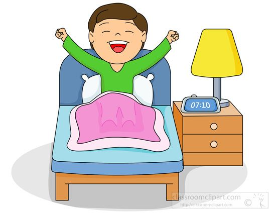 Image result for waking up clipart Traits of time Clip