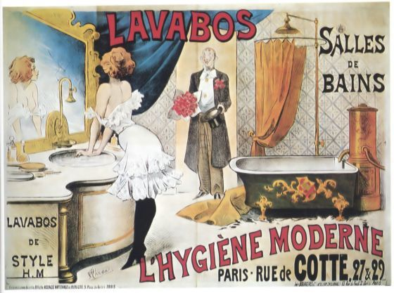 vintage french salle de bain posters - Google Search Ideas for the