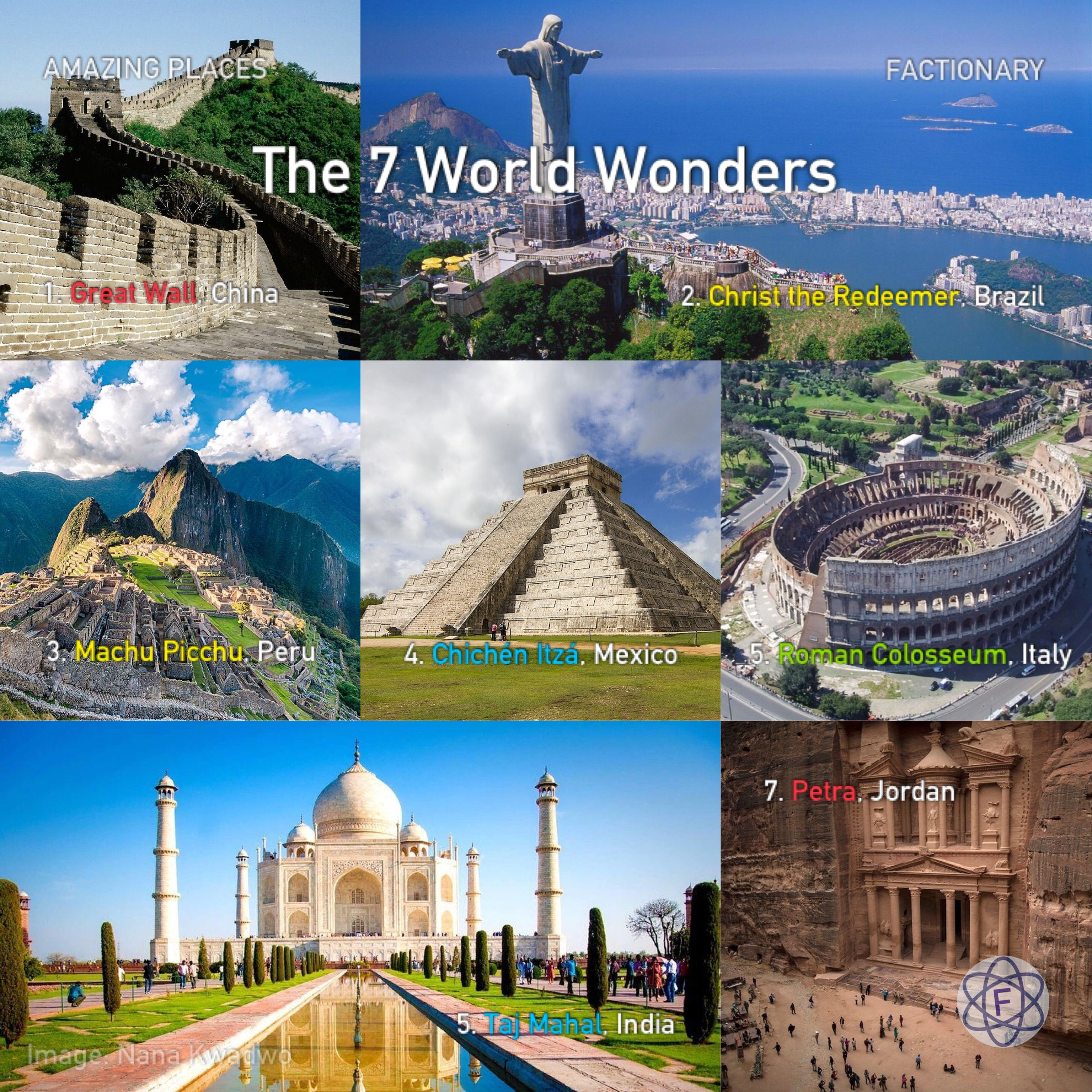 The World Wonders Are Really Amazing Places You Should Know About