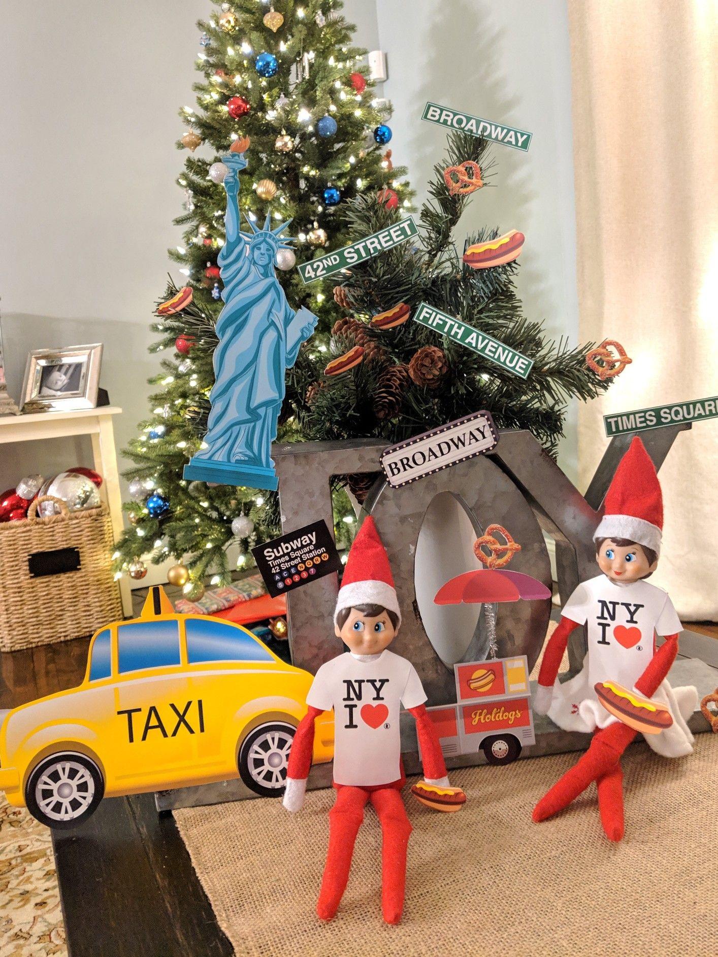New York Christmas Elf Elf Buddy The Elf