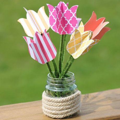 Printable Tulips | AllFreeKidsCrafts.com