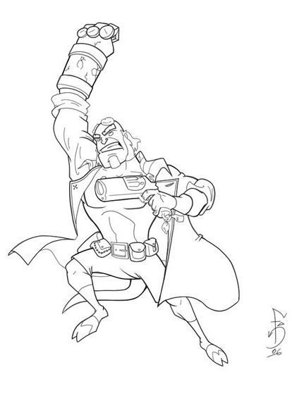 Printable Coloring Pages Boy Superheroes