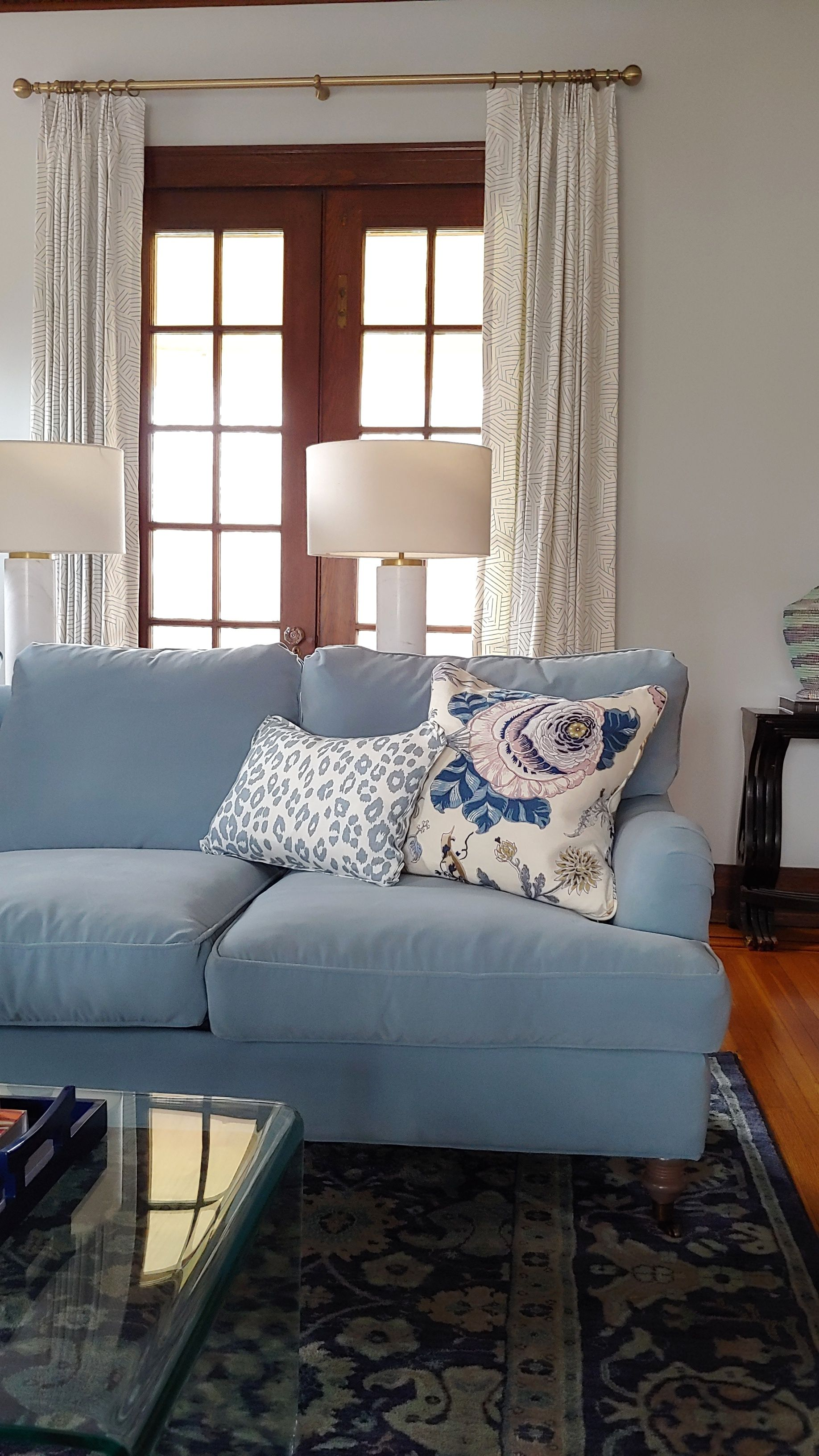 Loving These Gorgeous Sofa Pillows Iconic Leopard Sky Lumbar With Butterfly Flang Blue Sofas Living Room Light Blue Sofa Living Room Velvet Sofa Living Room