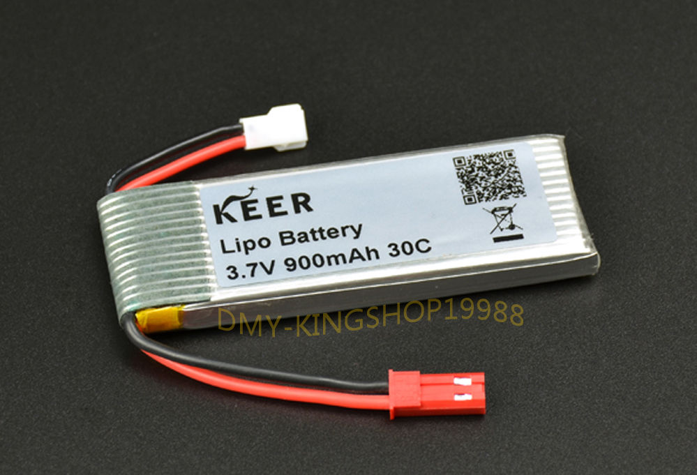 Upgraded Lipo 3.7V 900mAh 30C 1S Battery for RC Walkera NEW V120D02S Helicopter