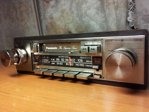 panasonic supreme series | ... new old stock car radio panasonic vintage car audio the supreme series