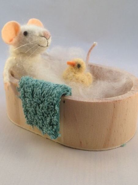 All needle felted