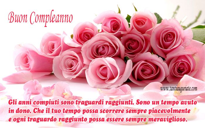 Fiori Bellissime Di Buon Compleanno Birthday Flowers Happy Mothers Day Images Beautiful Pink Roses