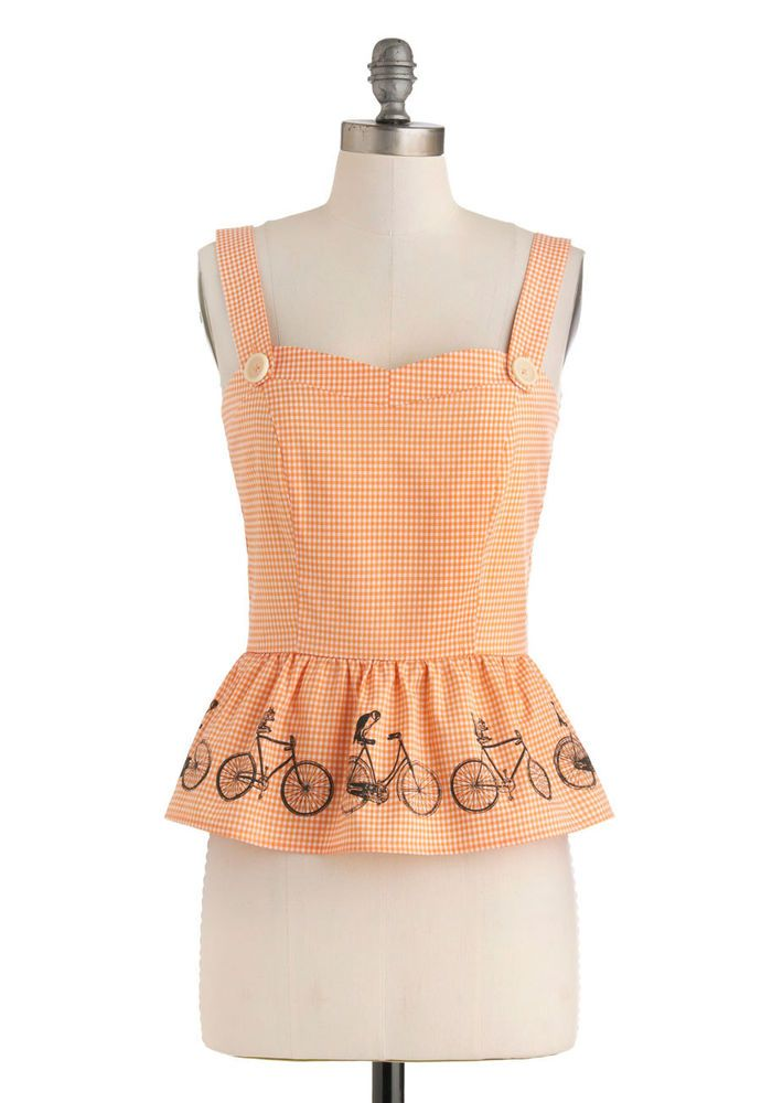 Modcloth Along for the Ride Top By Knitted Dove Sz XS NWOT #ModCloth #Peplum