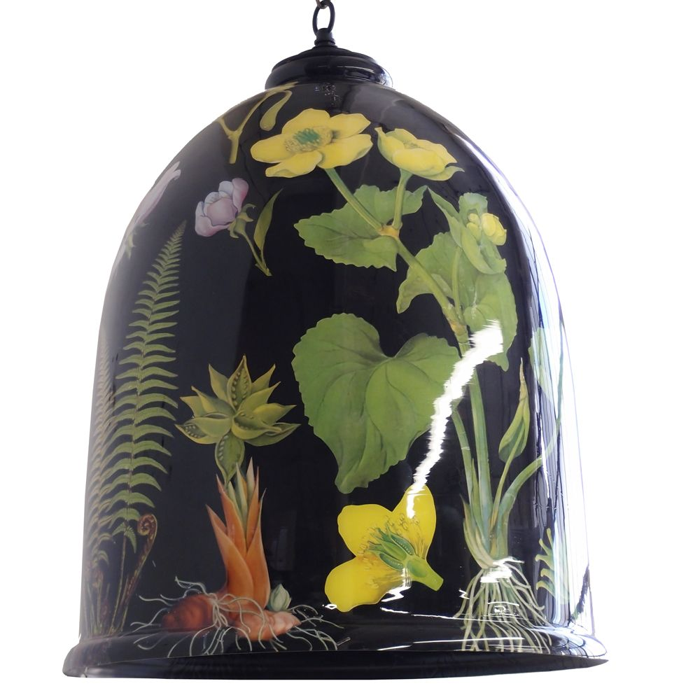 Canopy Designs Ltd Botanical Bell Jar Inspired By Vintage Scientific Plant Drawings This New