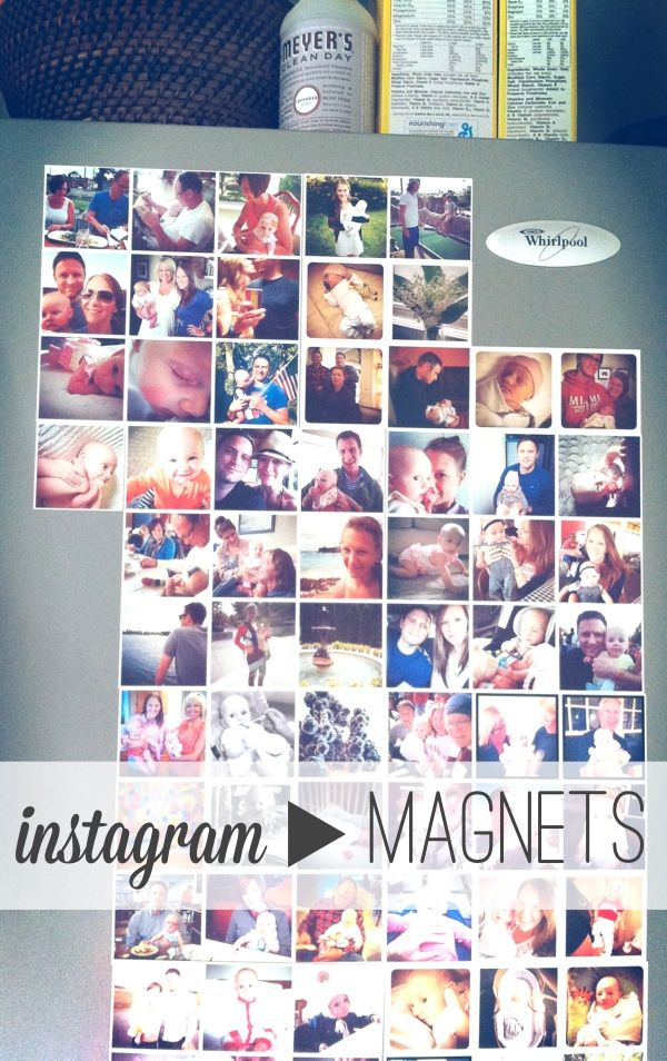 how we print our instagram photos