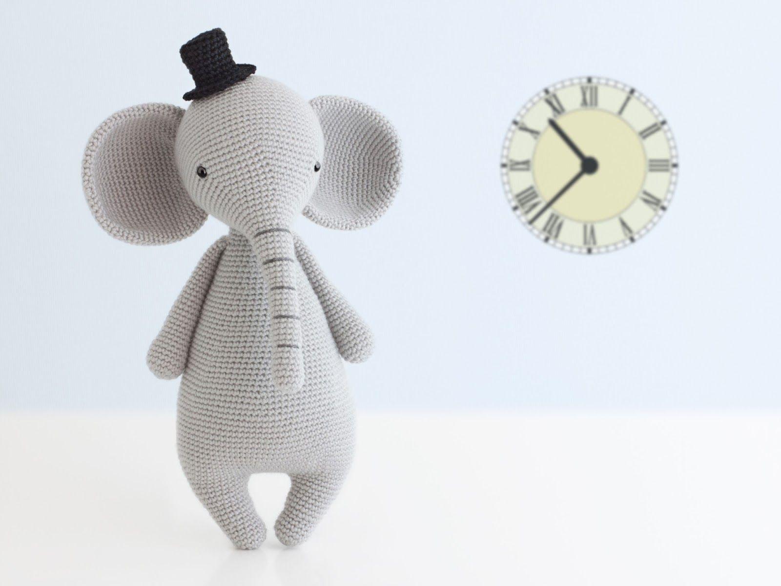 Amigurumi Elefante (patron del gorro gratis) | Amigurumi | Pinterest ...