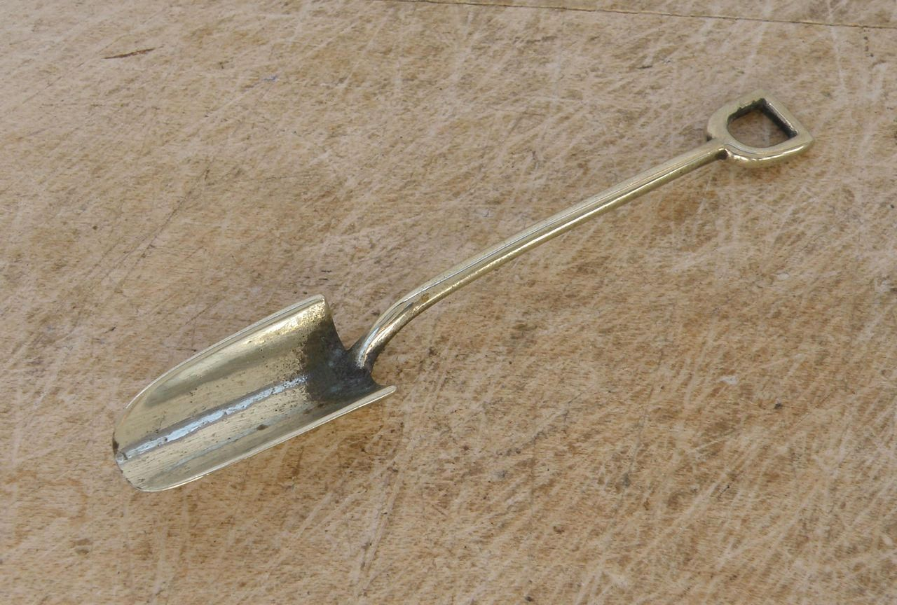SILVERPLATE SNUFF SPOON Small 3