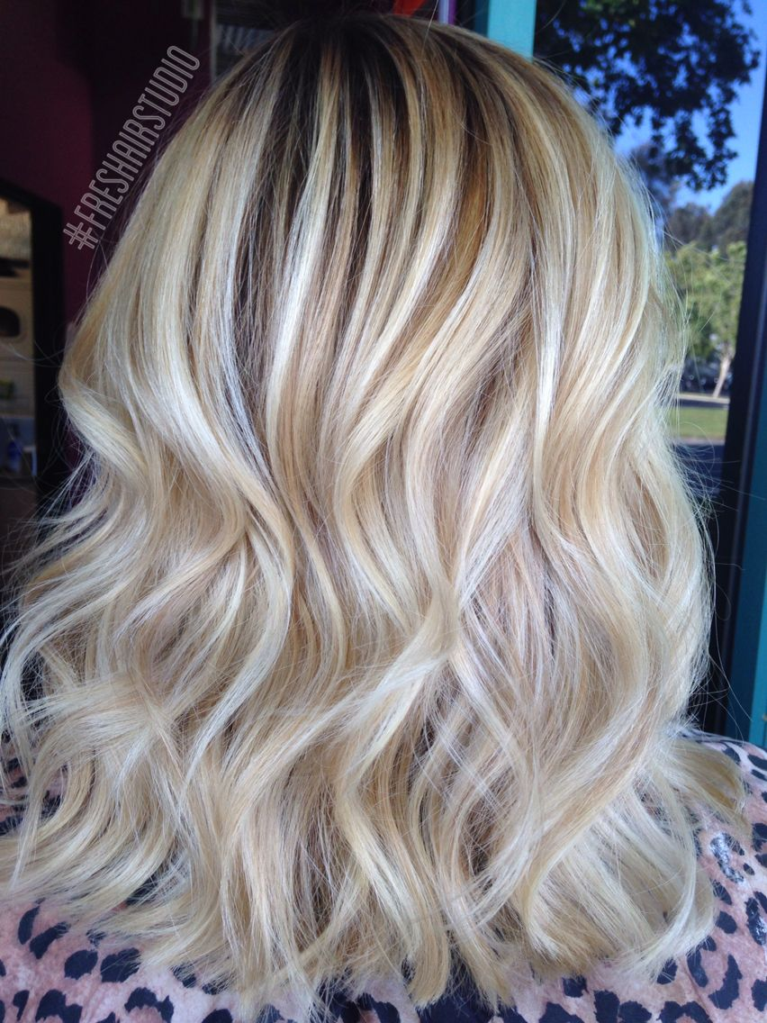 Dimensional Vanilla And Honey Blonde With Soft Texture