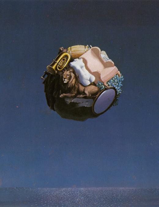 "workman: ""Rene Magritte - The Traveler """