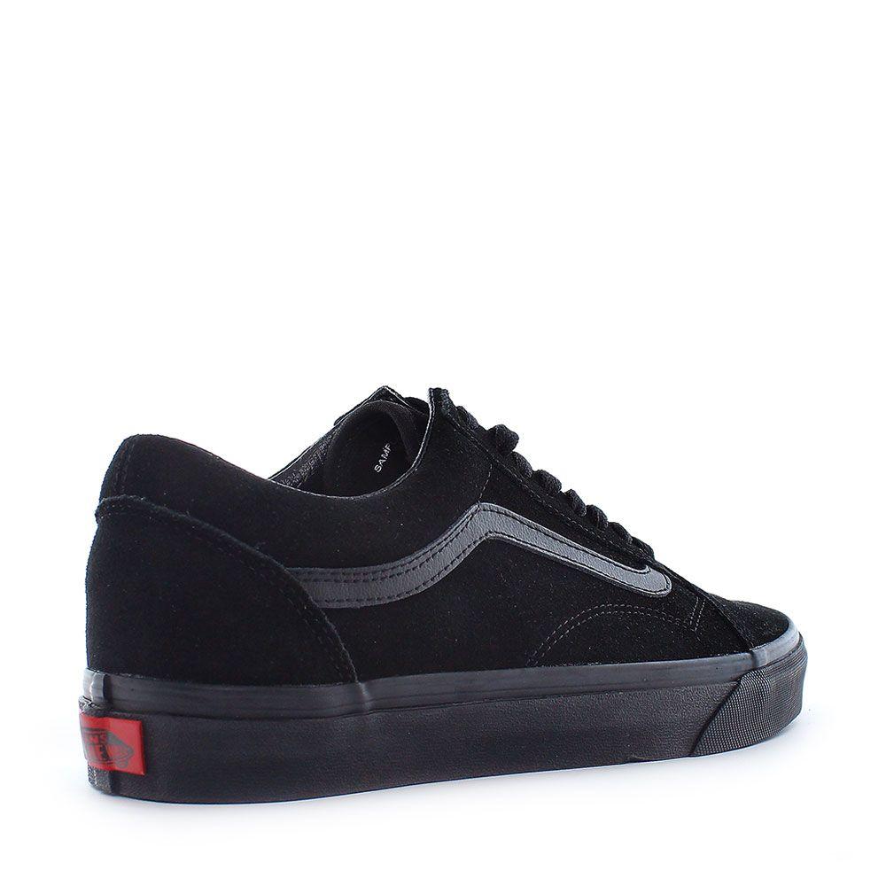 Vans Old Skool Suede Black Black Black Shoebedo Webshop Vans Old Skool Suede Vans