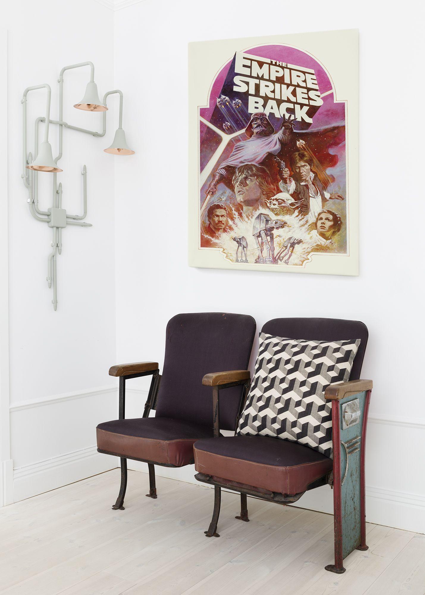Nook Vintage Seating + Throwback Canvas Print