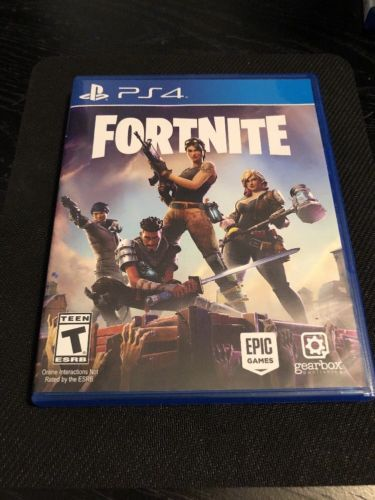 Fortnite Ps4 Physical Game Disc Sony Playstation 4 2017 Free