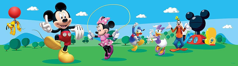 Disney Mickey Mouse, selbstklebende Bordüre für das Kinderzimmer ...