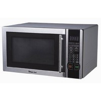 1 6 Cu Ft Microwave Oven 1100watts Turntable Stainless Steel