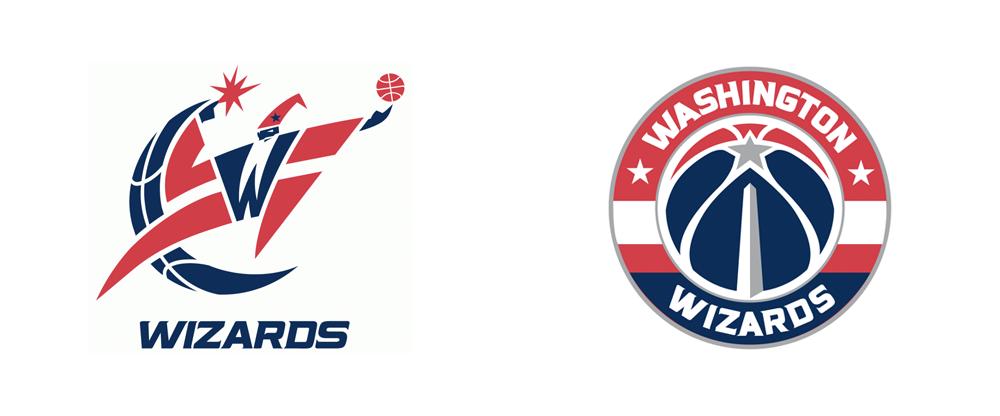 Brand New New Logo For Washington Wizards Washington Wizards Logos Washington
