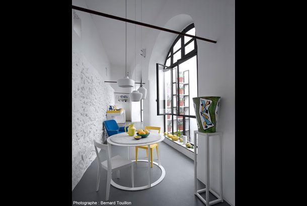 Blue and yellow zetastudio giuliano andrea dell 39 uva francesca faraone architetti napoli - Interior design napoli ...