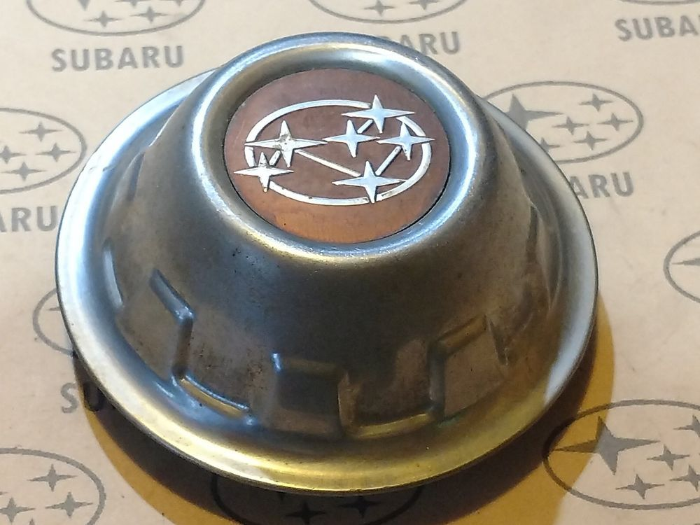 78 79 80 81 82 Subaru Brat Justy Single Center Wheel Cap Hubcap Subaru Brat Wheel