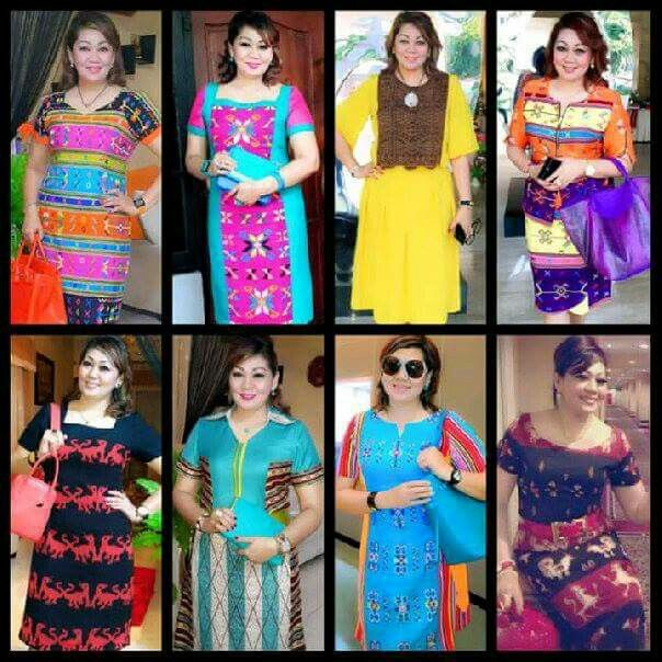 Tenun ikat NTT | Batik dan Tenun Ikat | Batik dress, Ikat ...