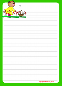 Stationery  Print This Today  stationery  Pinterest  Free