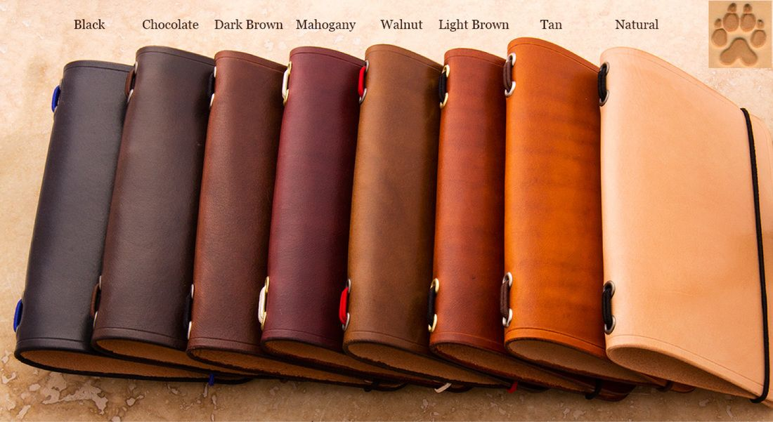 Fiebings Leather Dye Color Chart