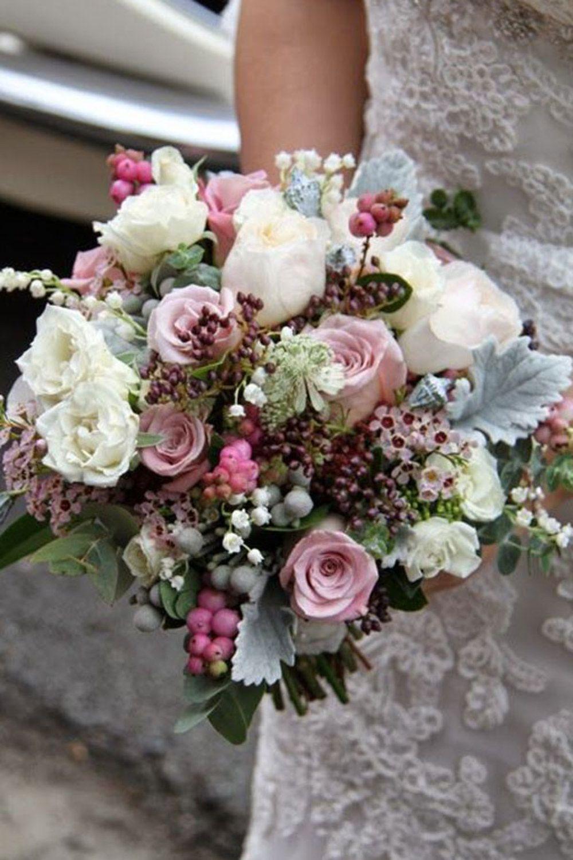fall wedding bouquet flower combinations Autumn Wedding