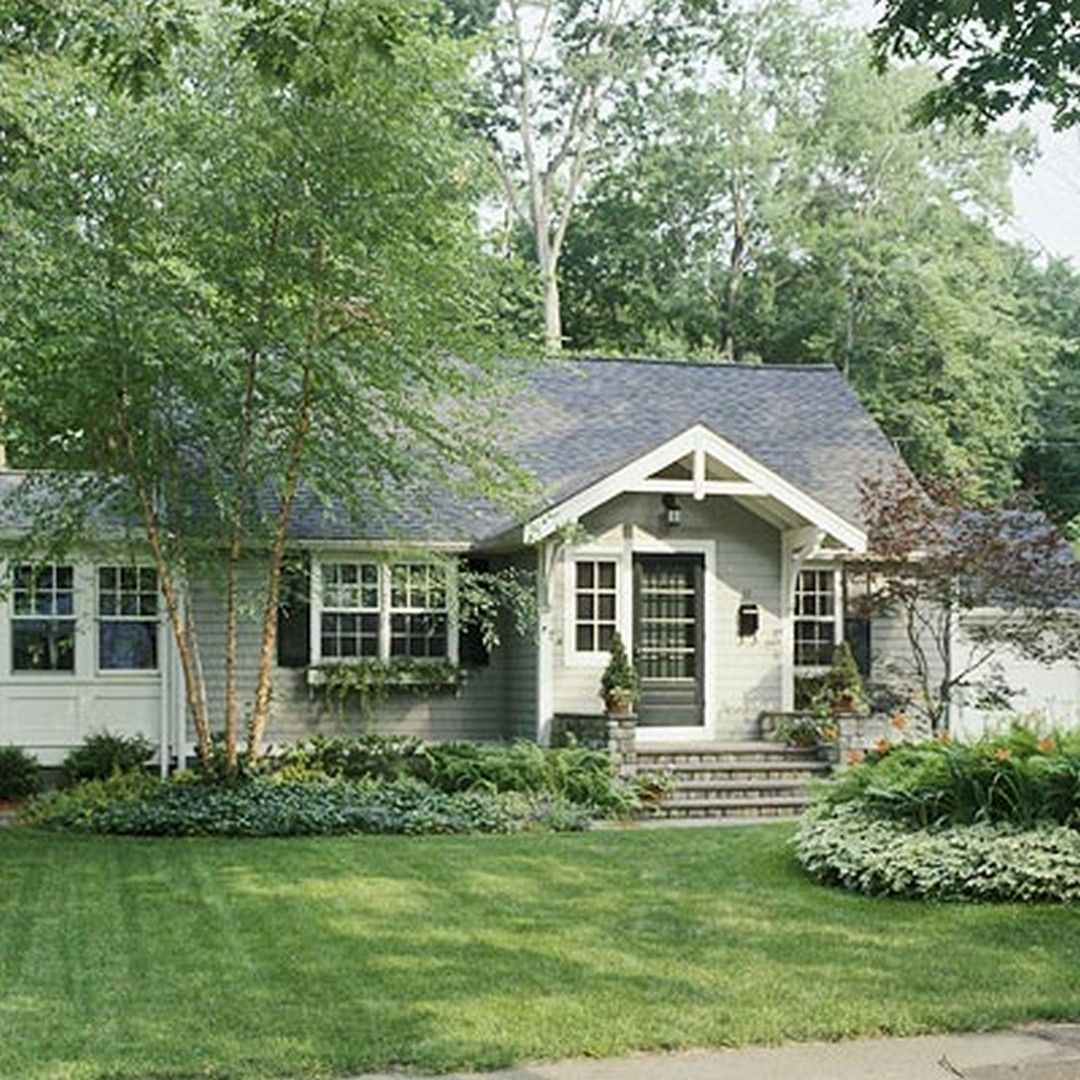 Ranch Home Exterior Ideas: Great Front Porch Addition Ranch Remodeling Ideas
