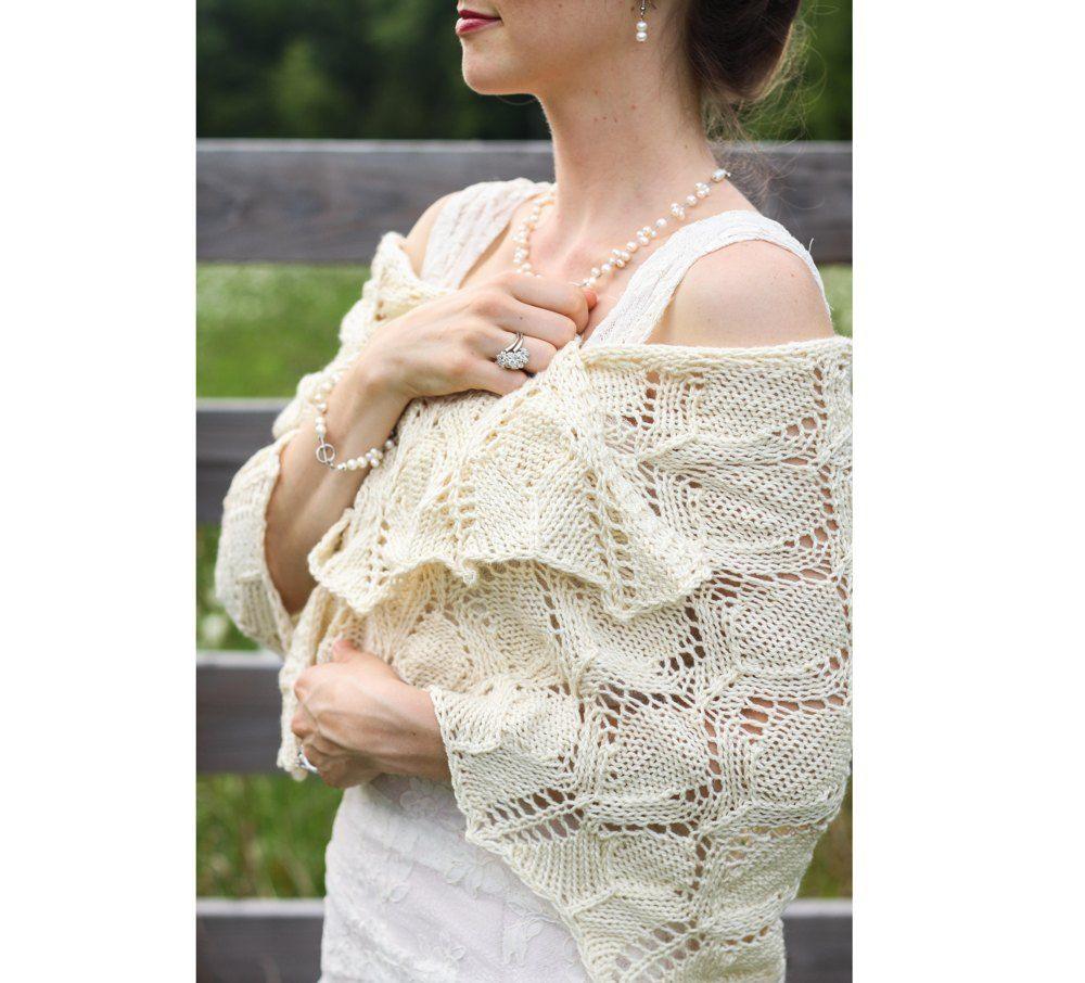 Wedding Day Shawl Knitting pattern by Taiga Hilliard ...