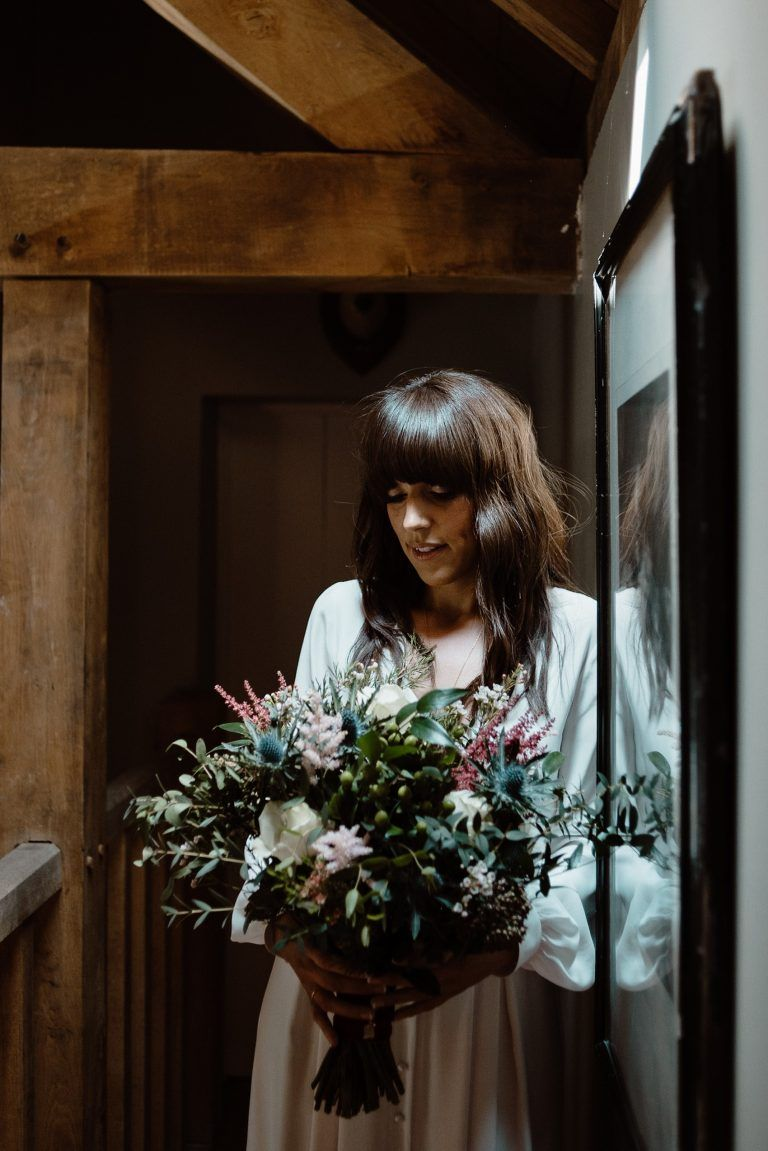 A Bride in Alexandra Grecco, 1000 Papercranes and an Irish Forest Wedding | Love My Dress® UK Wedding Blog + Wedding Directory