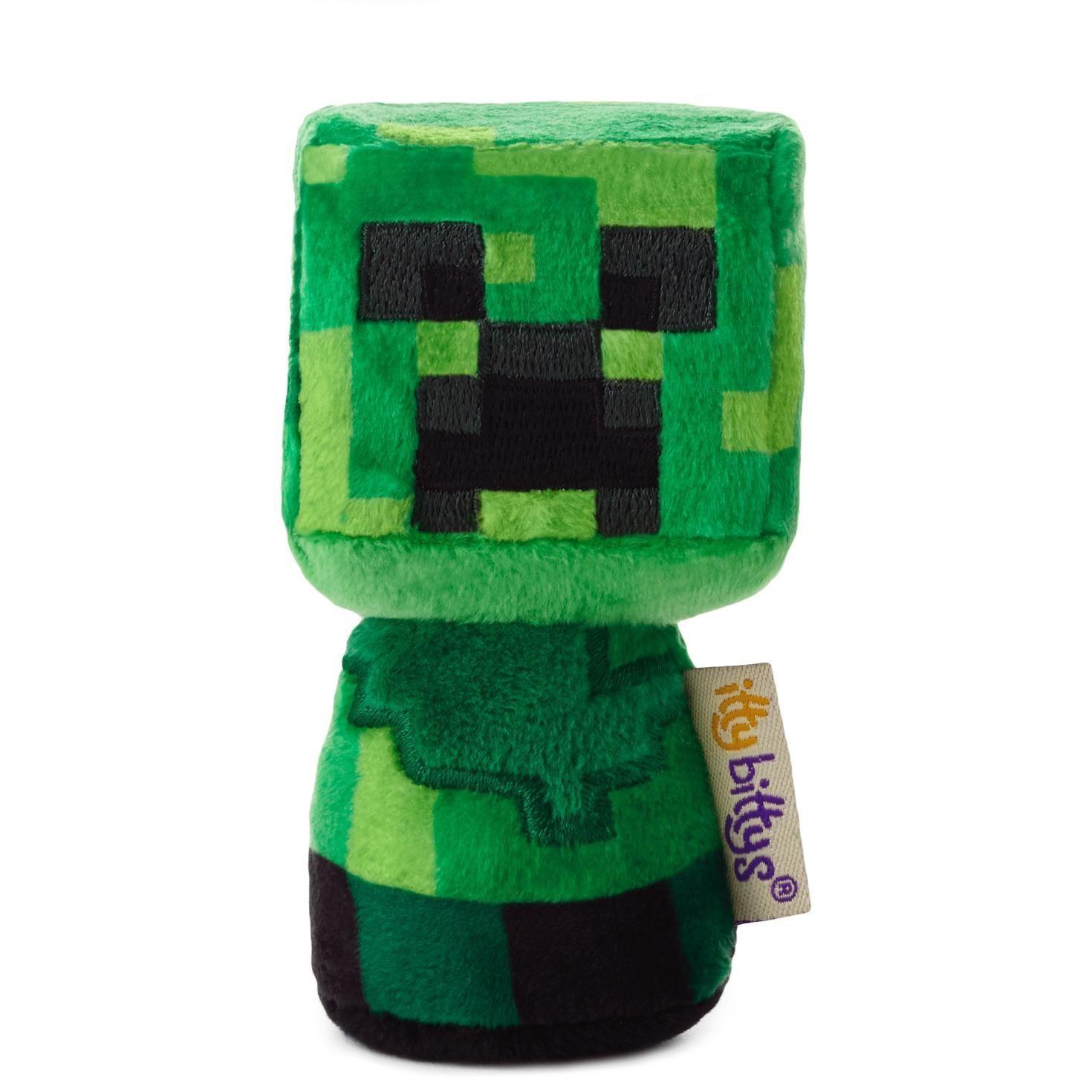 Hallmark itty bittys Minecraft Creeper Stuffed Animal | Pets
