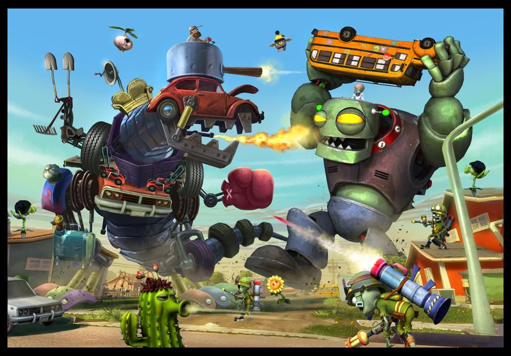 We Need This As A Dlc In Bfn Pvzgardenwarfare Plant Zombie Plants Vs Zombies Birthday Party Plants Vs Zombies