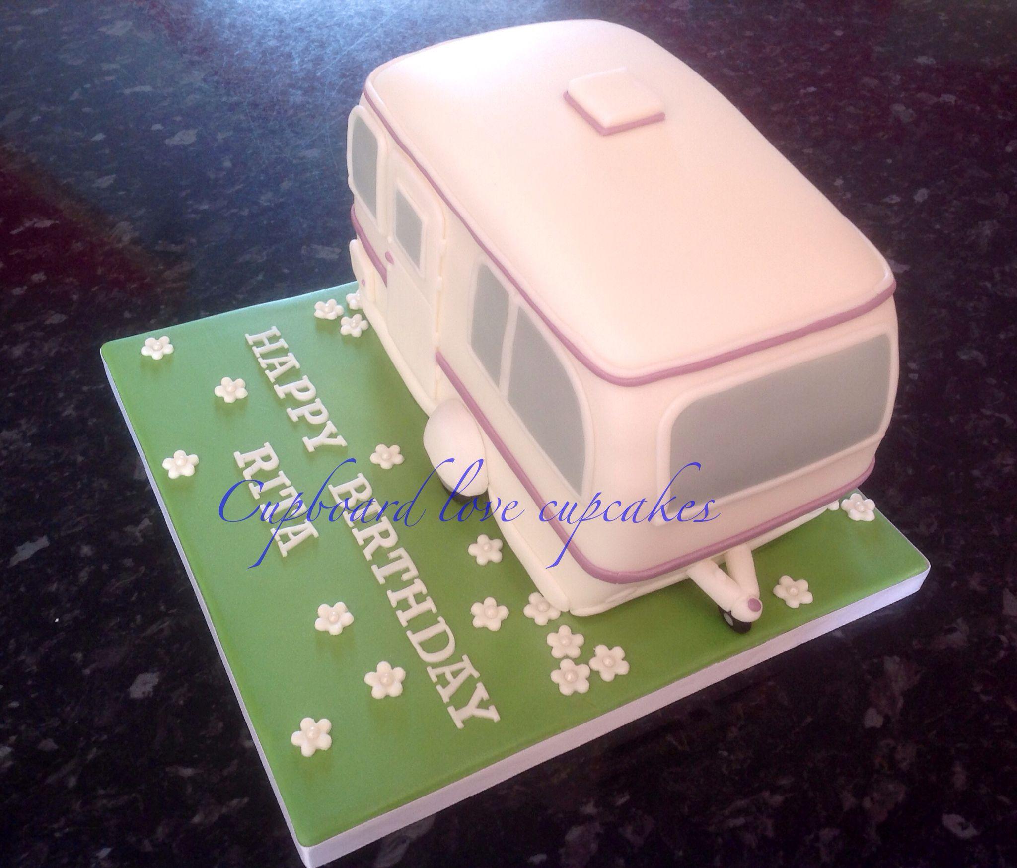 Caravan cake caravan cakes pinterest caravan and cakes