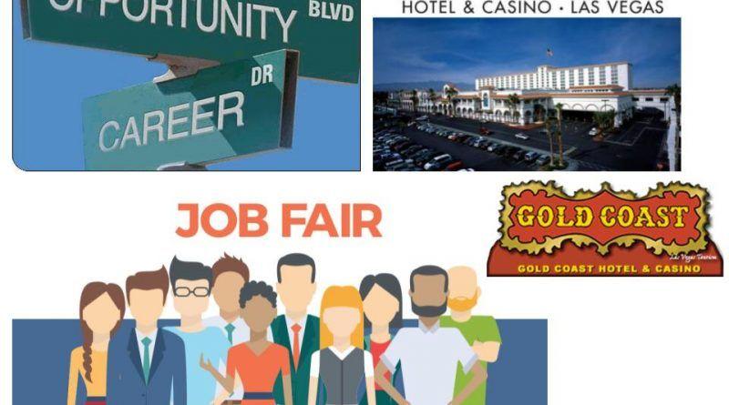 Las Vegas Job Fair at The Gold Coast coming up next Monday
