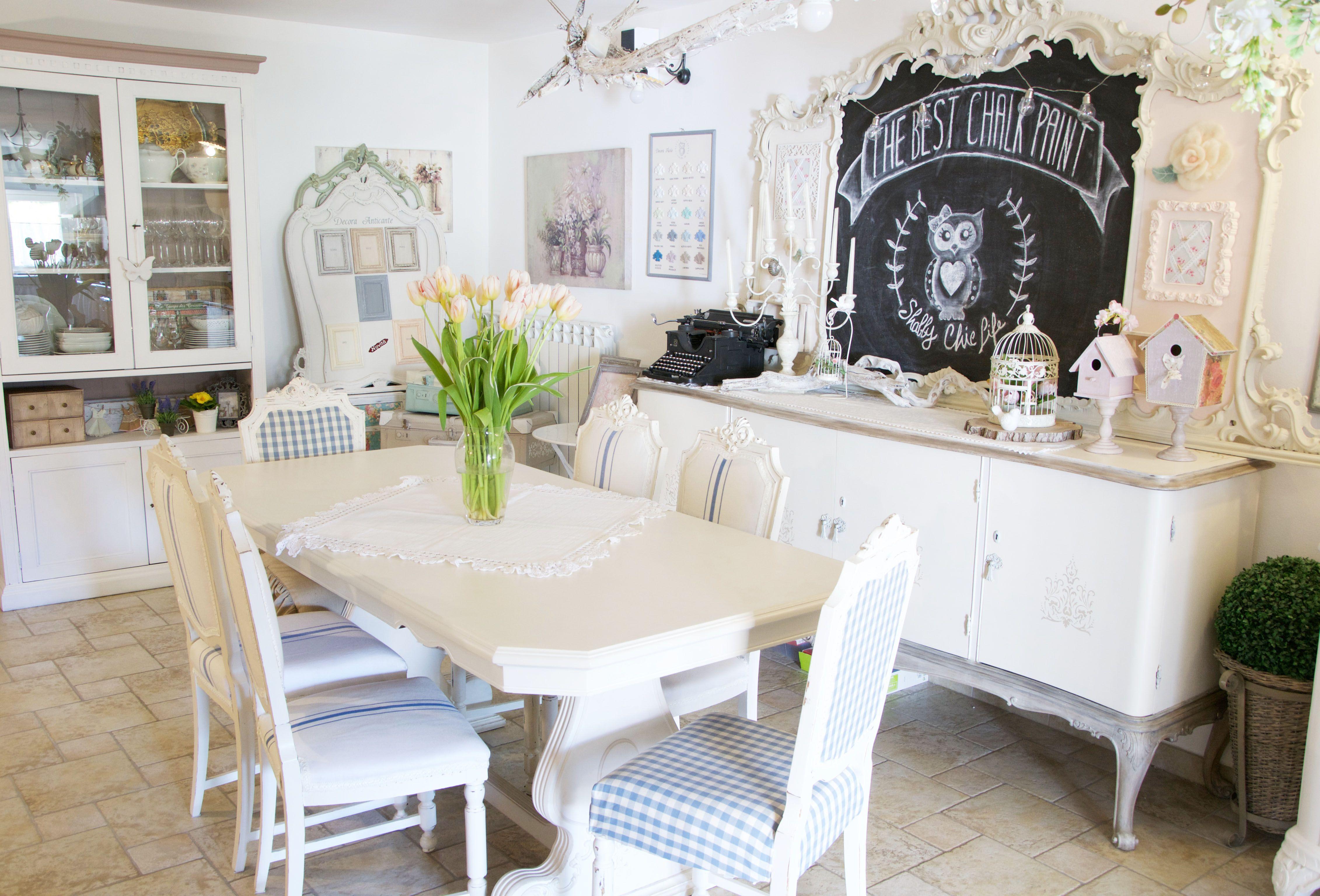 Tavolo Da Pranzo Shabby Chic : Tavolo da pranzo shabby chic tavoli shabby chic home interior idee