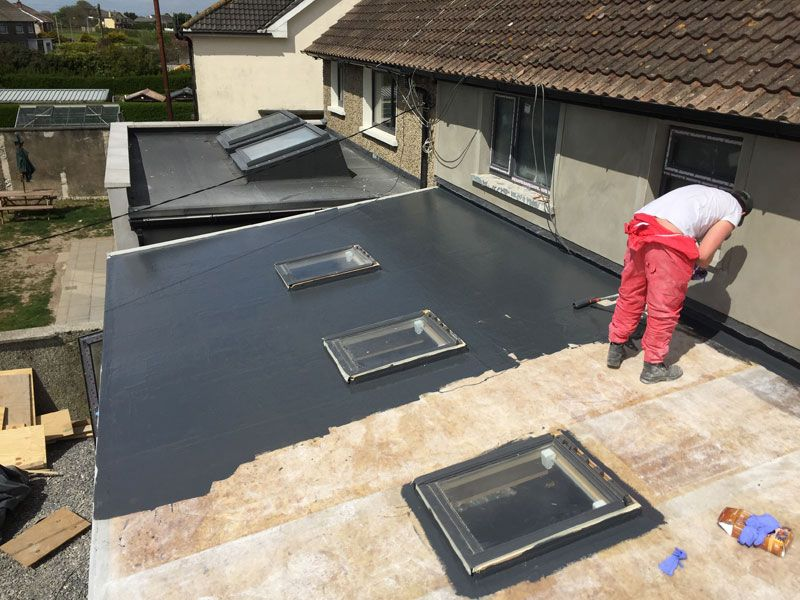 Best Fibreglass Roof 2 Customcomposites Ie Flat Roof Repair 640 x 480