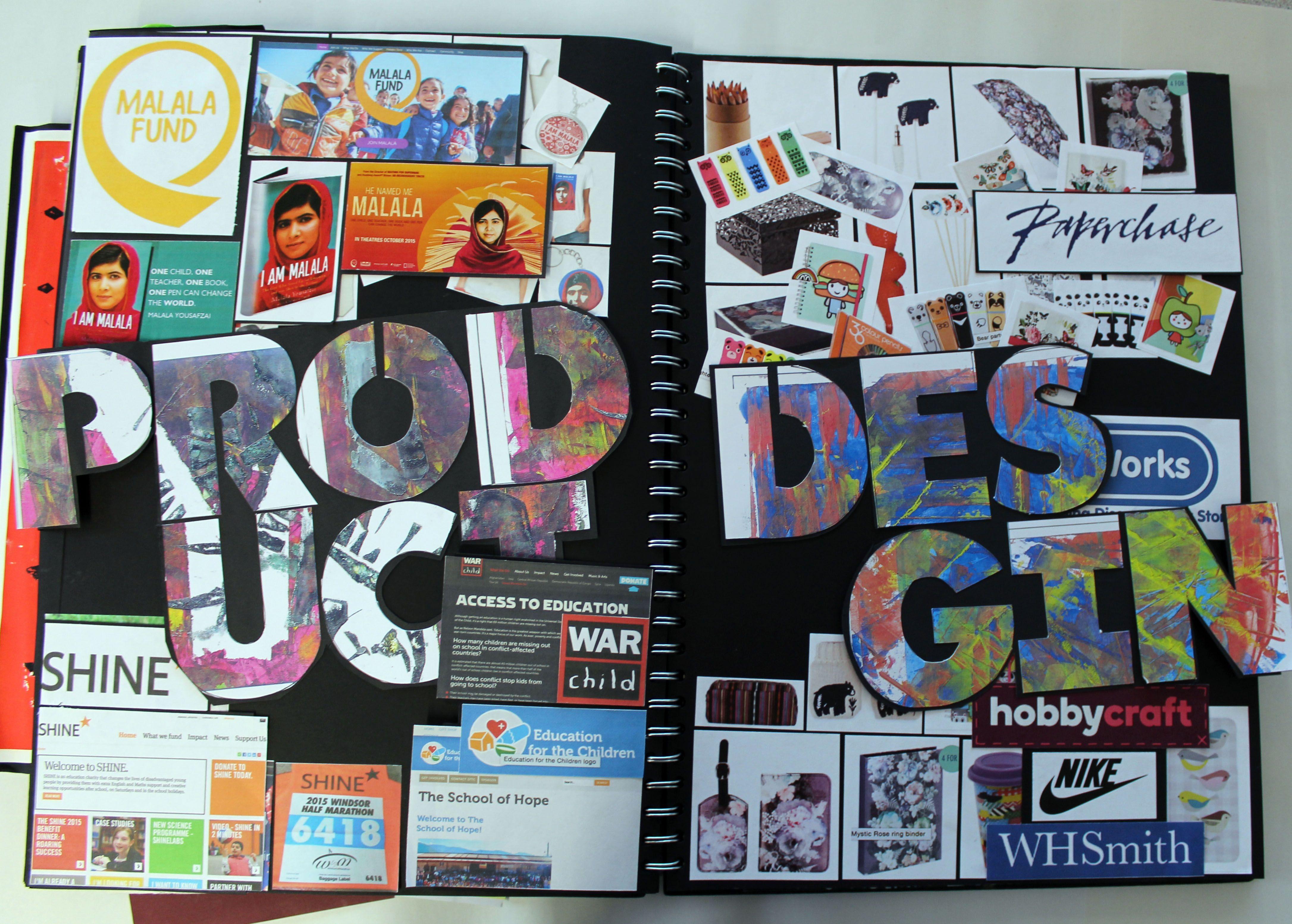 Al Graphic Communication A3 Black Sketchbook Design Research Cswk Structures Thomas Rotherham College 2015 16 Sketch Book Sketchbook Layout Mind Map Art